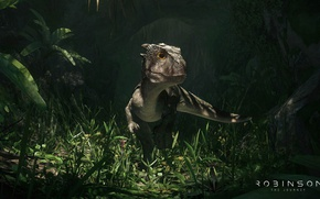 Picture game, predator, animal, vegetation, claws, reptile, dinosaur, Robinson The Journey