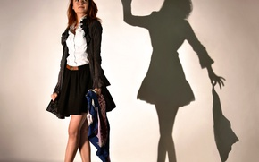 Wallpaper shadow, Shadowplay, girl, the game