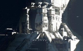 Picture stars, base, facilities, Strike Vector EX, Space base