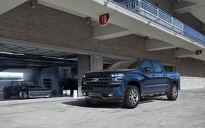 Picture Blue, Truck, Silverado, Z71, Pick Up, Chevroet, 2019