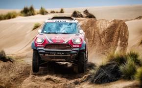 Picture Sand, Red, Auto, Mini, Sport, Desert, Machine, Speed, Race, Rally, Dakar, Dakar, SUV, Rally, X-Raid …