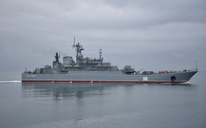 Picture Navy, the project 775, large landing ship, Caesar Kunikov