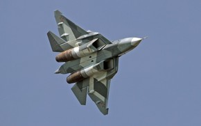 Picture T-50, Dry, The Russian air force, Su-57, Pak-FA