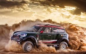 Picture Sand, Mini, Dust, Sport, Rally, Dakar, SUV, Rally, X-Raid Team, MINI Cooper, X-Raid, X Raid, …