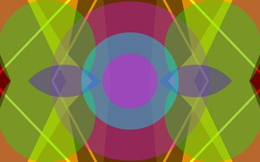 Picture fantasy, abstract, symmetry