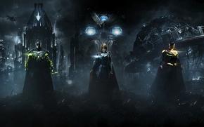Picture Batman, Superman, Supergirl, Warner Bros. Interactive Entertainment, NetherRealm Studios, Injustice 2