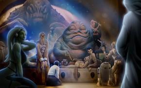 Picture star wars, Leia Organa, princess leia, Leia Organa Solo, jabba, Jabba Desilijic Tiure, Jabba the …
