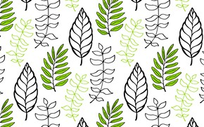 Picture Background, Texture, Leaves