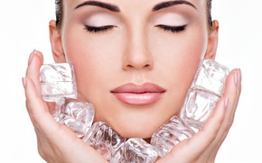 Picture ice, female, make up