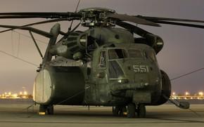 Picture heavy, MH-53E, Sea Dragon, transport helicopter