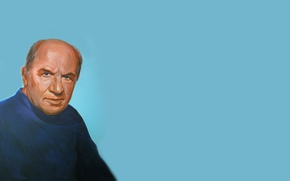 Wallpaper figure, portrait, actor, People's artist of the USSR, Lev Konstantinovich Durov, Lev Durov, Soviet Russian ...