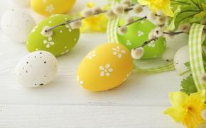 Wallpaper Easter, Easter eggs, Happy Easter, spring, eggs