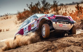 Picture Sand, Mini, Desert, Race, Rally, SUV, Rally, X-Raid Team, 305, MINI Cooper, X-Raid, X Raid, …