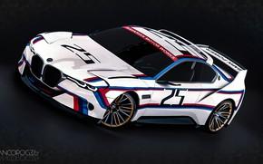 Picture Concept, Auto, Figure, Machine, BMW, Art, Hommage, German, Bavarian, BMW 3.0 CSL, Hommage R, BMW …