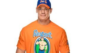 Picture pose, actor, baseball cap, wrestler, WWE, John Cena, John Cena, bodybuilder, bodybuilder, white background, SmackDown …