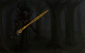Picture Elves, Warhammer, Art, Warhammer, Elven Soldier, ent, ENT, Dortha, Treebeard, Guardian of the forest, durthu