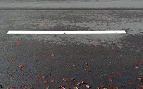 Picture wallpaper, white, road, minimalism, texture, background, street, asphalt, marking