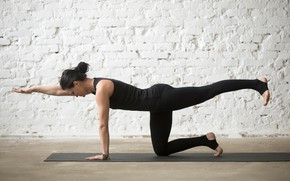 Picture woman, pose, yoga