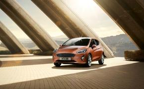 Picture Ford, Fiesta, hatchback, Titanium, 2017