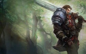 Picture The game, Sword, Game, League of legends, LoL, Sword, League of legends, Riot Games, Garen, …