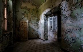 Picture room, the door, window