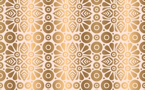Picture gold, texture, India, ornament, pattern, Golden, floral