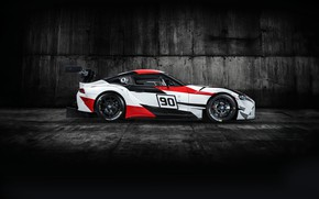 Picture profile, Toyota, 2018, racing car, GR Supra Racing Concept