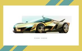 Picture Auto, Figure, Frame, Machine, Car, Car, Art, Art, Rendering, Sci Fi, Yasid Design, Yasid Oozeear, ...