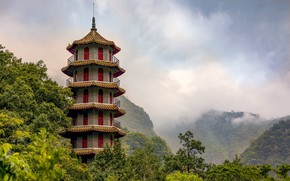 Picture Taiwan, pagoda, structure