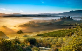 Wallpaper the sky, light, Italy, Tuscany