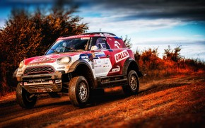 Picture Auto, Mini, Sport, Machine, Race, Rally, SUV, Rally, X-Raid Team, 102, MINI Cooper, X-Raid, X …