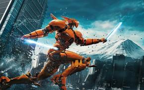 Picture Action, Fantasy, Robots, Legendary Pictures, Machine, Big, year, 2018, Large, EXCLUSIVE, Pilot, Jake, Movie, Battle, ...