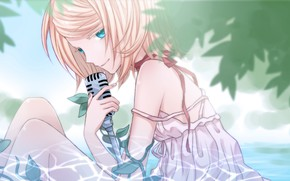 Picture look, anime, art, girl, Vocaloid, Vocaloid