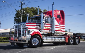 Picture Red, XFC, Western star, W 4900