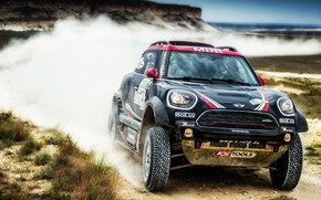 Picture Auto, Mini, Dust, Sport, Machine, Speed, Race, The hood, Lights, Rally, SUV, Rally, The front, …