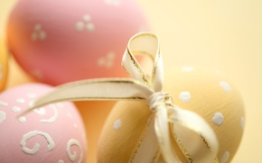 Picture Easter, tape, pink, spring, Easter, eggs, decoration, Happy