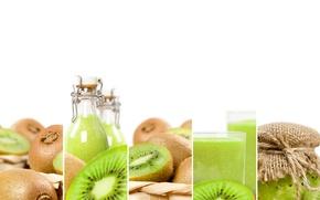 Picture green, kiwi, juice, drink, food, fruit, fresh, drink, kiwi