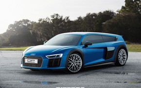 Picture Audi, Auto, Audi, Tuning, Car, Car, Auto, Drives, Tuning, DizePro