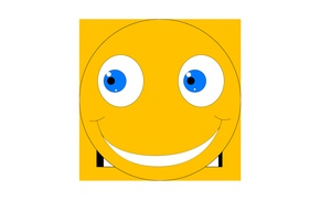 Picture cartoon, Wallpaper, figure, graphics, animation, muzzle, smile, graphics, smiley, picture, smiley, smile, funny, cartoon, Crank, …