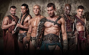 Wallpaper spartacus, Oenomaus, Spartacus: Blood and sand, Crixus, Varro, blood and sand, Ashur, Barca, Gladiator, the ...