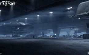 Picture hangar, camera, Star Wars Battlefront