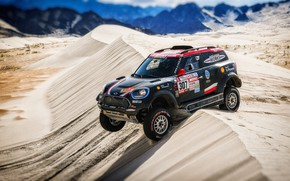 Picture Sand, Mini, Sport, Desert, Speed, Race, Hills, 307, Rally, Dakar, Dakar, SUV, Rally, Dune, X-Raid …