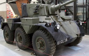 Picture tank, armored, Saladin, military vehicle, armored vehicle, Royal Air Force Museum Cosford, FV601 Saladin, Alvis …