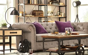 Picture style, interior, Austin, living room, Texas, ISIN