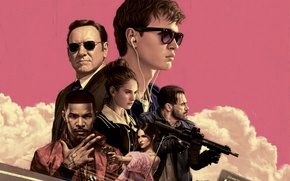 Wallpaper Baby Driver, Movie, The film