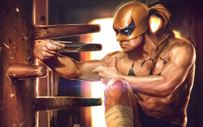 Picture superhero, Marvel Comics, Iron Fist, comics, iron fist, Denys Tsiperk