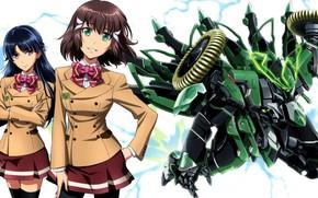 Picture girl, robot, mecha, manga, Saki, Shoko sashinami, Kakumeiki Valvrave, Rukino