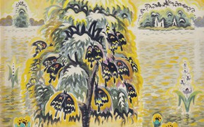 Picture 1959, Charles Ephraim Burchfield, Golden Dream