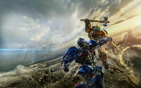 Picture Action, Robot, Hummer, Warrior, The, Transformers, year, Optimus Prime, Bumblebee, Last, EXCLUSIVE, Weapons, Knight, Movie, ...