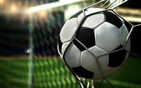 Wallpaper the ball, mesh, football, gate